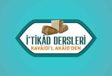 Photo of İ'tikâd Dersleri
